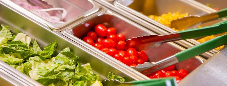salad bar feature